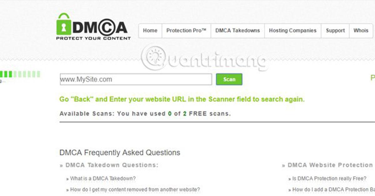 DMCA-Scan